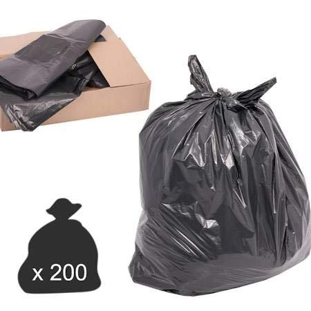 BBP Express® Bolsas de Basura Negras/Bolsas de Basura Bolsas ...