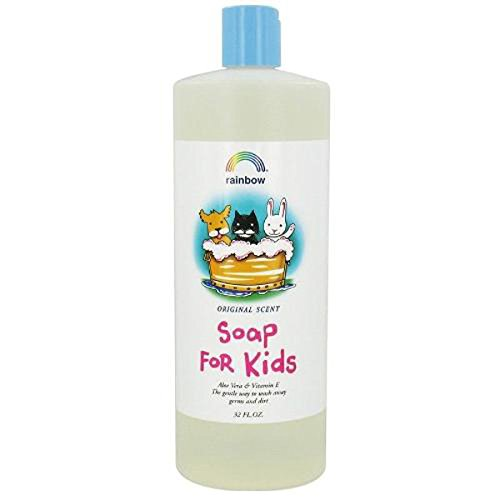 - Liquid Soap For Kids Aloe Vera & Vitamin E Original 32 Ounces