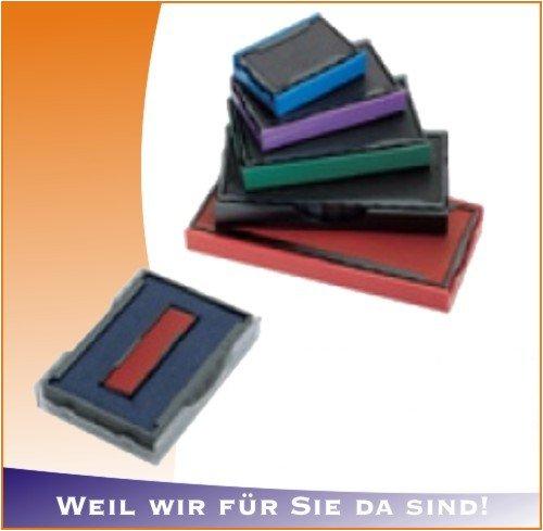 COLOP confezione da 5 pezzi - tampone colop e / 10/2 rosso-blu E10