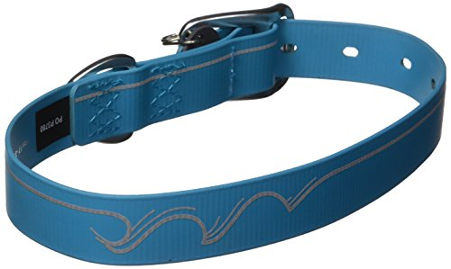 Ruffwear   Headwater Waterproof  Stink Proof  Reflective Dog Collar  Blue Spring  17  20