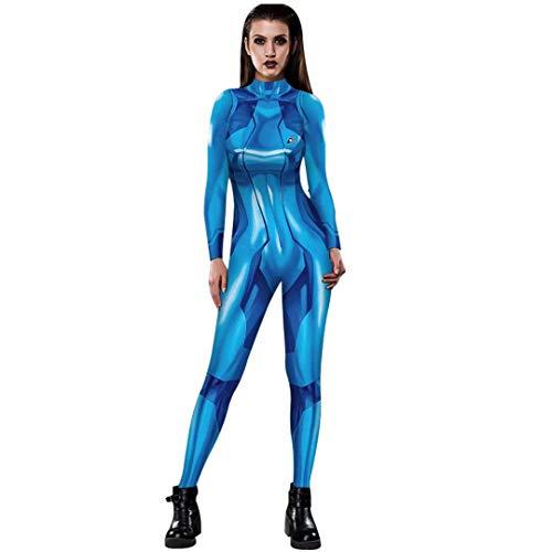 Tsyllyp Zero Suit Samus Cosplay Costume Aran