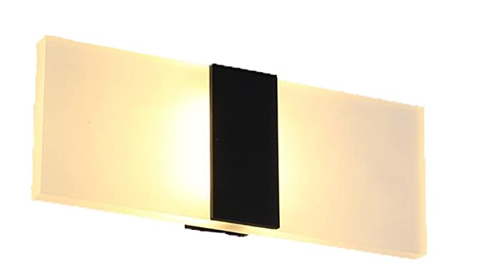 outdoor up down lights ideas modern led wall light up down cube indoor outdoor sconces lighting lamp fixture 4 black