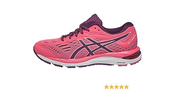ASICS Gel-Cumulus 20 - Zapatillas de correr para mujer, Rosa (Rosa Cameo/Roselle), 41 EU: Amazon.es: Zapatos y complementos