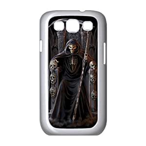 C-EUR Phone Case Grim Reaper Hard Back Case Cover For Samsung Galaxy S3 I9300