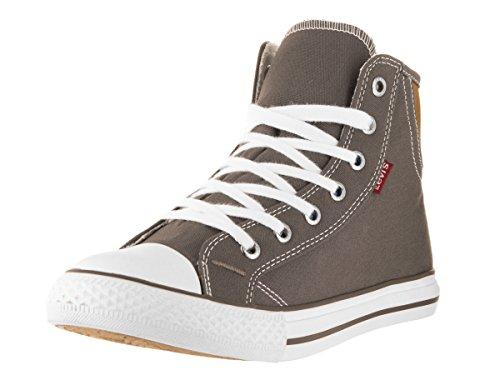 Levi's Women's Hamilton Buck Charcoal Brown Casual Shoe 7 Women US