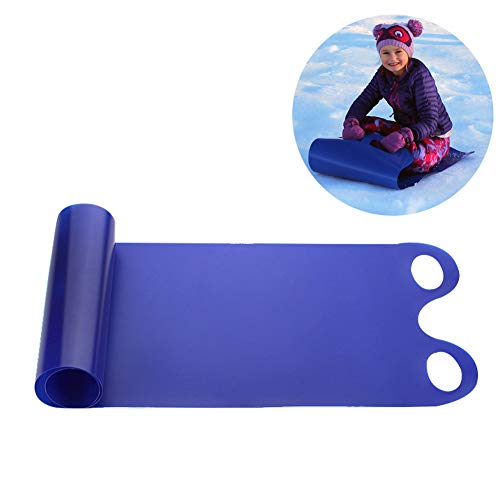 Flying Carpet Snow Sled,Winter Toboggan Outdoor Snow Sled,Classic Roll-Up Sled,Flexible Flying Saucer,Foldable Snow Carpet