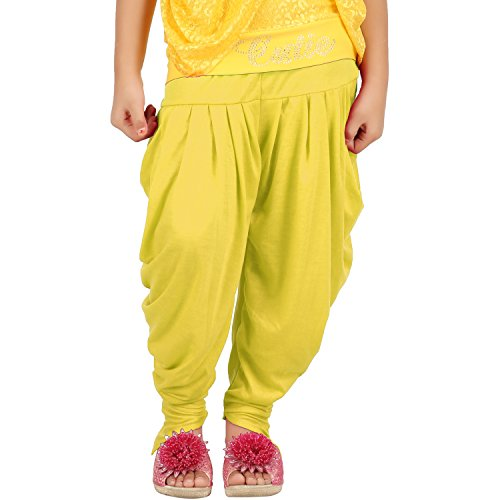 Goodtry Girls Butterfly Dhoti Pant-Gold