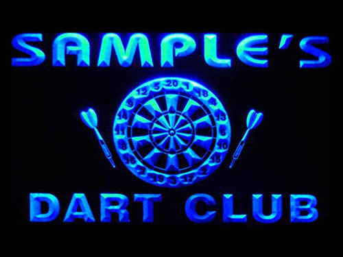 ADVPRO ts-tm Name Personalized Custom Dart Club Bar Beer Neon Sign