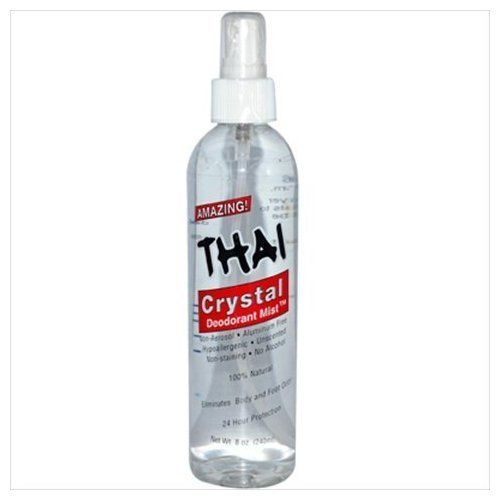 - Thai Crystal Deodorant Mist 8 oz Deodorant Stones