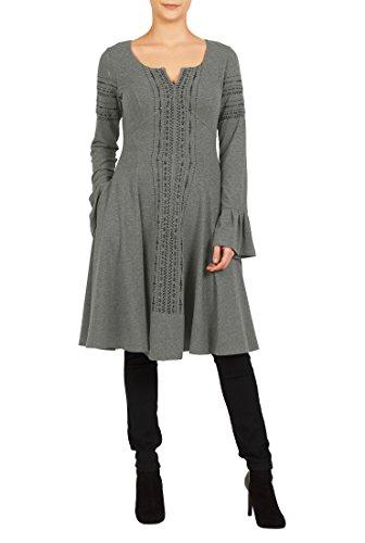 Empire Knit Dress - 6