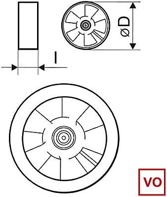 Ventilador Extractor Axial de Alta Temperatura 150°C para ...