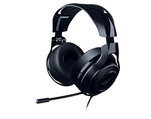 Razer ManO'War: 7.1 Surround Sound - Quick Action Controls - Unidirectional Retractable Mic - Gaming Headset Works with PC, PS4, Xbox One, Switch, Mobile Devices