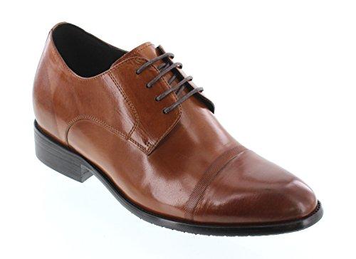 CALTO, Stivali uomo marrone Brown