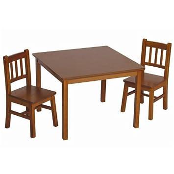 Guidecraft Mission Table U0026 Chairs Set   Kids Furniture