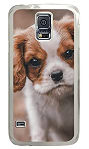 Meet Dog Clear Hard Case Cover Skin For Samsung Galaxy S5 I9600