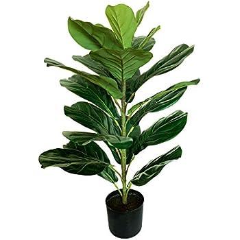 BESAMENATURE Artificial Fiddle Leaf Fig Tree/Faux Ficus Lyrata for Home Decor, 30