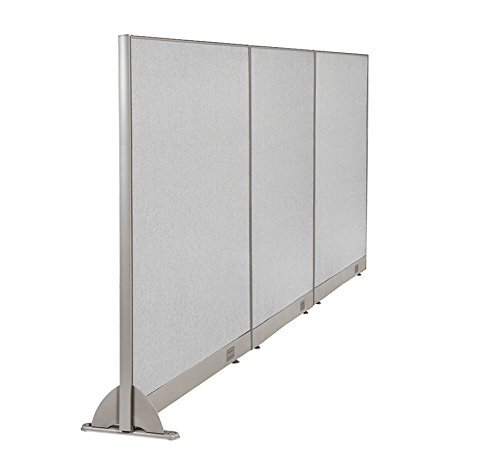 GOF Wall Mounted Office Partition, 120W x 48H / Office Panel, Room Divider (120w x 72h) by GOF