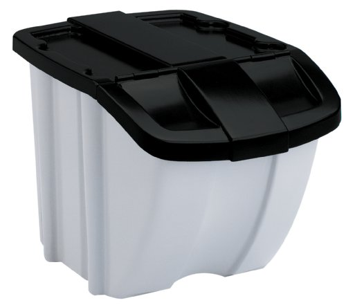 Suncast Bins Storage - Suncast BH188810 18 Gallon Stackable Storage Bin