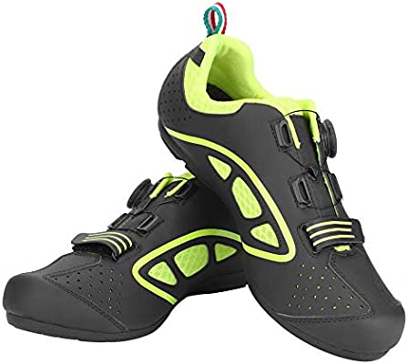 VGEBY1 Calzado de Bicicleta, Zapatos de Bicicleta Antideslizantes ...