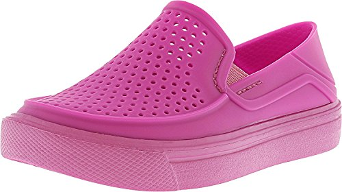 crocs Kids' Citilane Roka K Flat, Vibrant Violet, 12 M US Little Kid