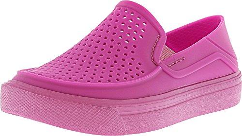 crocs Kids' Citilane Roka K Flat, Vibrant Violet, 12 M US Little Kid