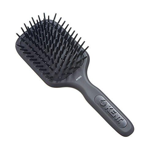 (Kent Medium Phat Pin Cushioned Base Hair Brush - AH8 Grey (PACK OF 1))