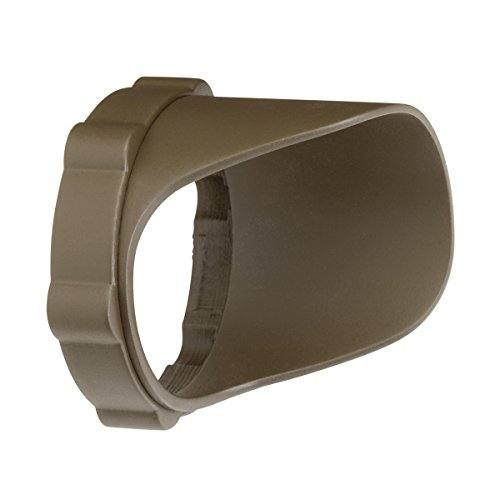 Kichler 15701AZTP Accessory Snap-on Cowl - Short 4.5W/8.5W, Textured Arch Bronze Polycarbonate