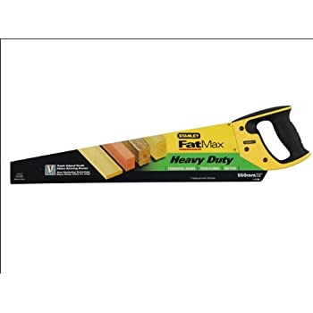 "NEW Stanley 550mm 22/"" Sharpcut Hardpoint Wood Hand Saw Universal 7 tpi STA120091"