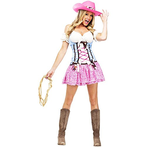 Western Rodeo Sweetie Cowgirls Adult Costume