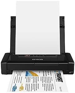 Epson WorkForce WF-100W - Impresora A4 portátil (WiFi y WiFi Direct, USB), color negro
