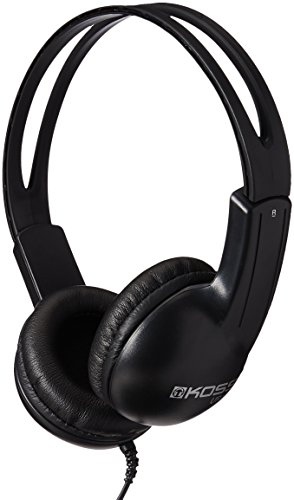 Koss UR10i Lightweight Headphone, Black