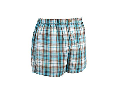 - New Silhouette Men's Woven Boxer Shorts Underwear Cotton (XXL)