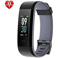 YAMAY Fitness Tracker, Heart Rate Monitor Watch Fitness...