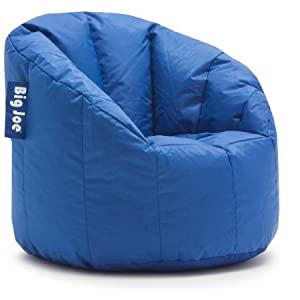 Big Joe Milano Bean Bag Chair, Stadium Blue