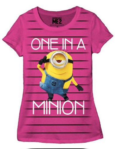 despicable-me-one-in-a-minion-junior-t-shirt-m