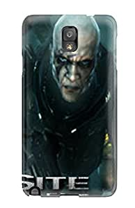 Excellent Galaxy Note 3 Case Tpu Cover Back Skin Protector Blacksite: Area 51