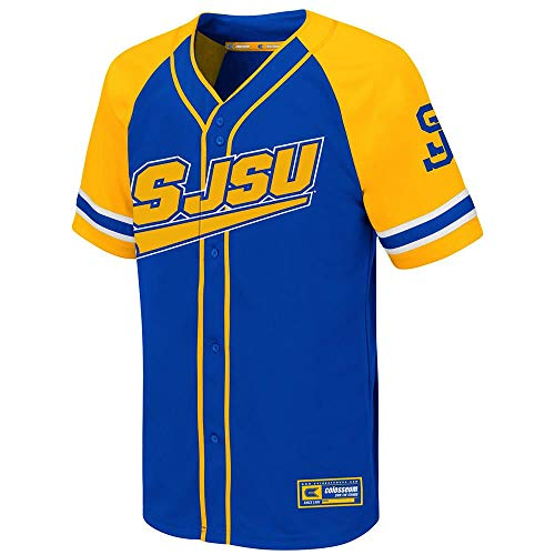 Colosseum Youth San Jose State Spartans Wallis Baseball Jersey - M