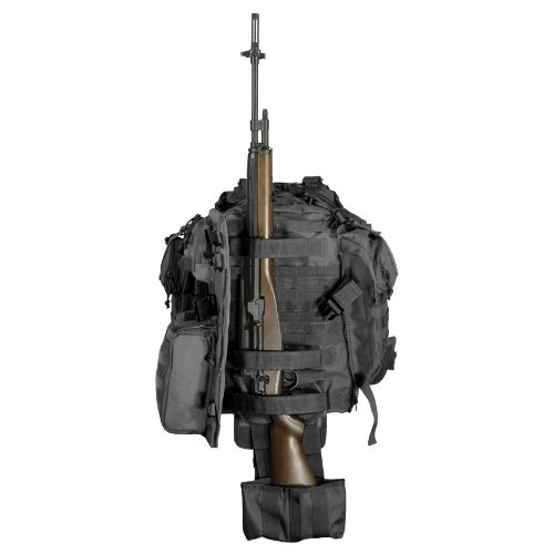 Voodoo Tactical Praetorian Rifle Pack 15-0029 Hydration Backpack Black by VooDoo Tactical