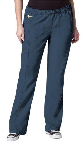 Women's Cargo Petite Pant Size: 5X, Color: Navy