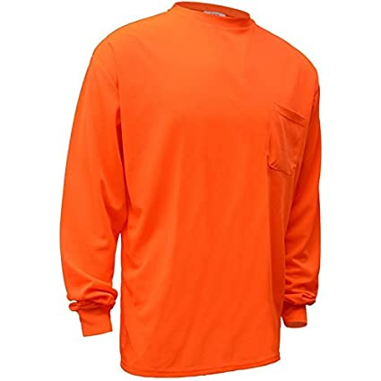 7e8c63ca Brite Safety Style 213 Hi Vis Long-Sleeve Safety Shirt with Pocket | Non-