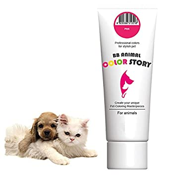 Pink 50 ml Dog Hair Dye Hair Coloring Professional Colors for ...