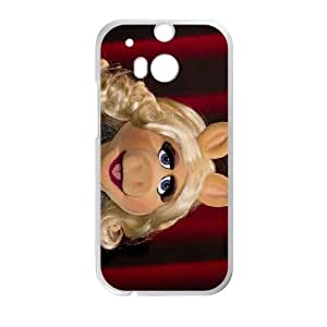 The Muppets Miss Piggy HTC One M8 Cell Phone Case White Mdvbt