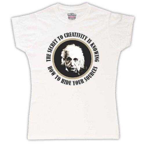 Albert Weis Creatividad Einstein shirt Mujer To Secret Para T U1xZUr