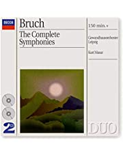 Bruch: Symphonies / Works For Violin & Orchestra