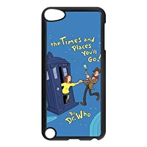 Customize Doctor Who Police Box Back Case for ipod Touch 5 JNIPOD5-1298
