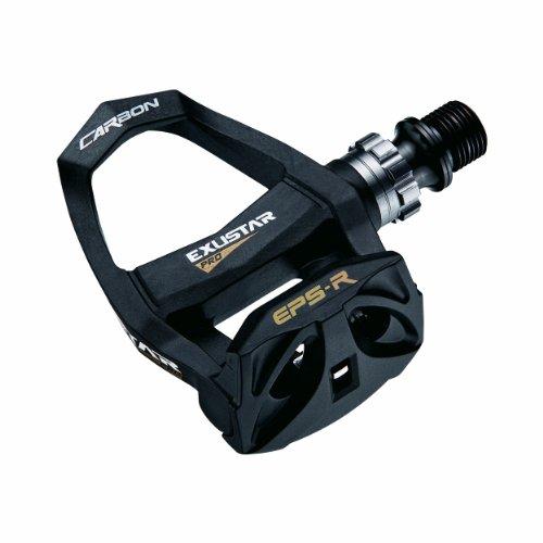 - Exustar E-PR200CK-TI Road Bike Pedal, Black/Gold, 86x89mm