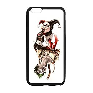 the Case Shop- Customizable Joker and Harley Quinn Limited Edition iPhone 6 Plus 5.5 Inch TPU Rubber Protective Hard Back Case Cover Skin , i6pxq-466