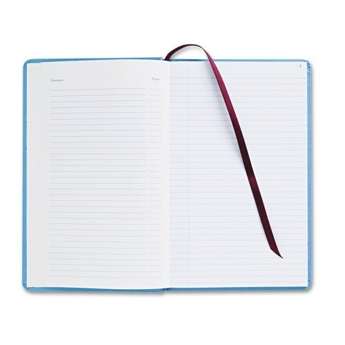 Adams Business Forms ARB712CR1 Record Ledger Book, Blue Cloth Cover, 150 7 1/4 x 11 3/4 Pages