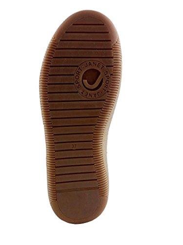 Piel Mujer Zapatos Eu Janet Cordones De Militar Para Verde Sport 36 5RvqwqYI