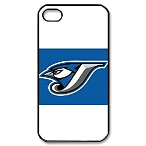 MLB iPhone 4,4S Black Toronto Blue Jays cell phone cases&Gift Holiday&Christmas Gifts NADL7B8824866